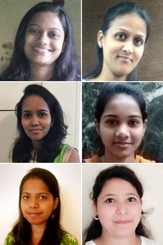 Nileena Baby, Trupthi Janardhan Mhatre, Minal Vasudev Bambulkar